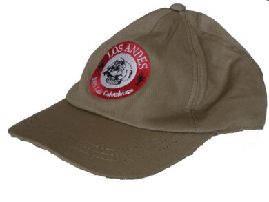 Baseball cap KAKI - beige cap - with the logo of Café LOS ANDES