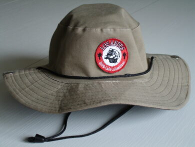 Hat with the logo of Café LOS ANDES