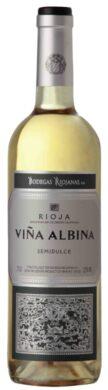 VINA ALBINA bílé víno semidulce 2017 Rioja DOCa