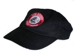Baseball cap NEGRA - černá čepice - s logem Café LOS ANDES