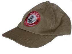 Baseball cap KAKI - béžová čiapka - s logom Café LOS ANDES